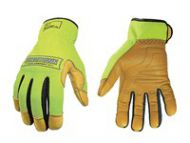 Youngstown Safety Lime Hybrid Plus With Kevlar