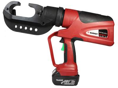 PAT46LWSLI 15-ton battery-operated crimping tool