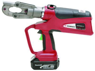 PAT600LI 6-ton battery-operated crimping tool